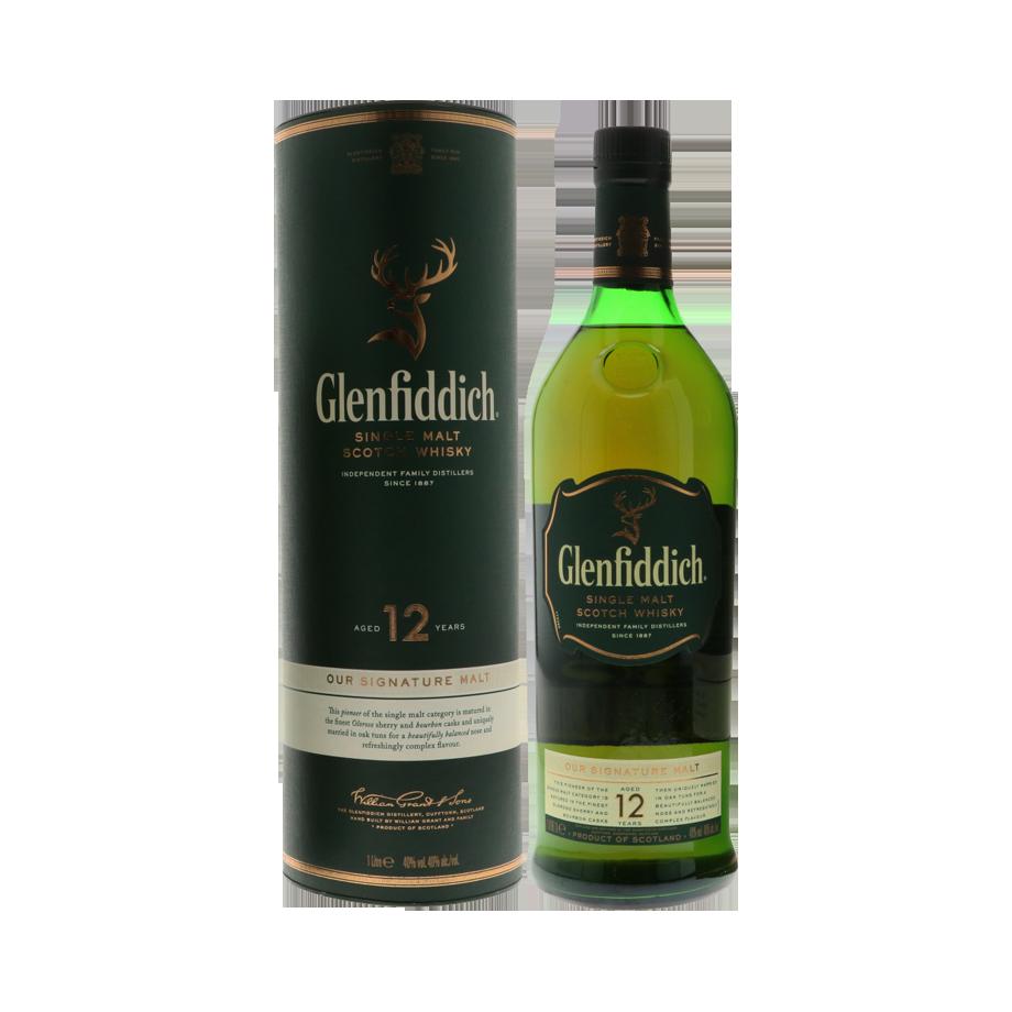 Glenfiddich 12 yrs 1ltr
