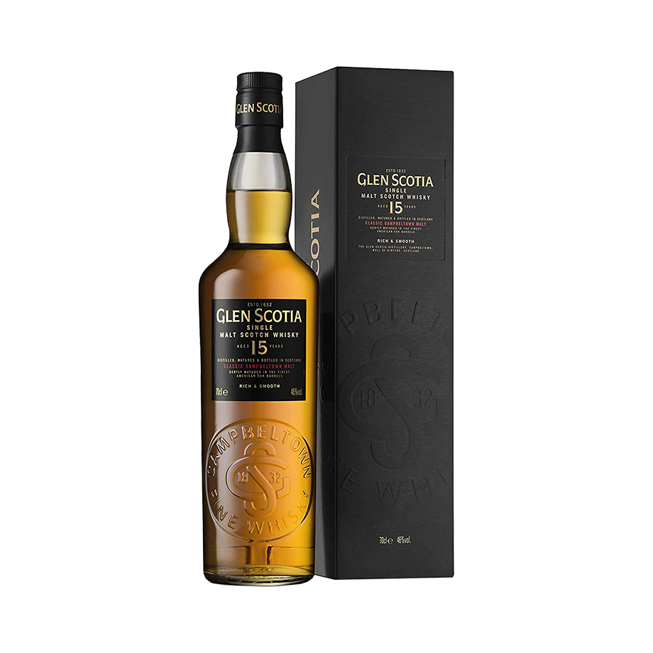 Glen Scotia 15yrs Campbeltown 70cl