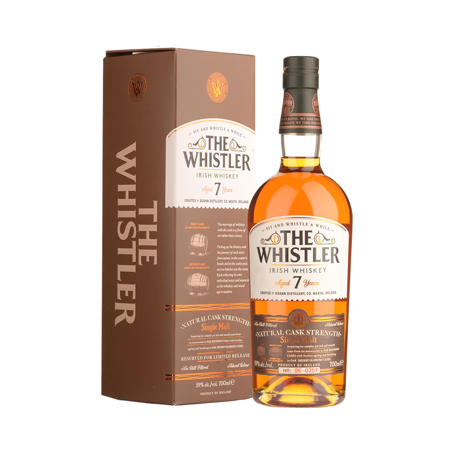 The Whistler 7 year Natural Cask Strength 70cl