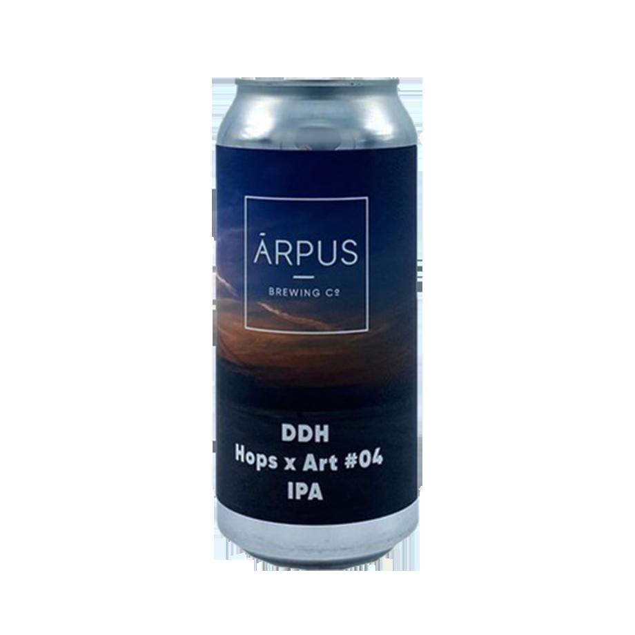 Arpus Brewing DDH Hops x Art #4 44cl