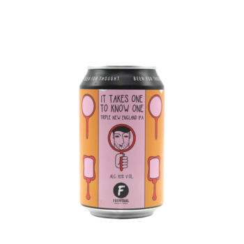 Frontaal It Takes One To Know One Tripele New England IPA 33cl