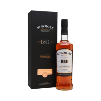 Bowmore 25 years Islay Single Malt 70cl