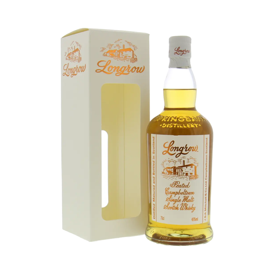 Longrow Peated Campbeltown Single Malt Scotch Whisky 70cl