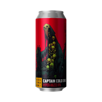 Austmann Captain Cold One Hyper-Hazed IPA 44cl