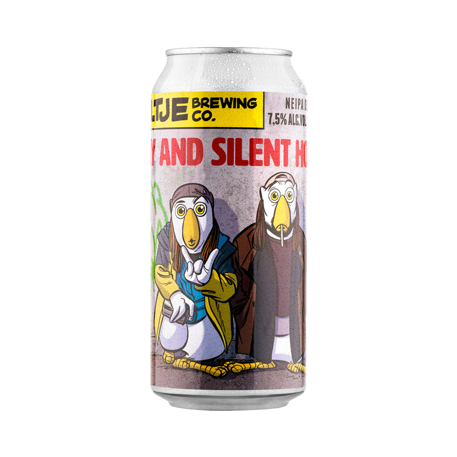 Uiltje Jay and Silent Hop 44cl