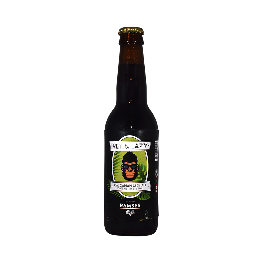 Vet & Lazy Cascadian Dark Ale 33cl
