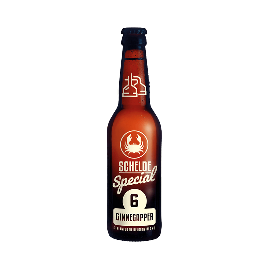 Schelde Special #6 Ginnegapper Gin Infused Belgian Blonde 33cl